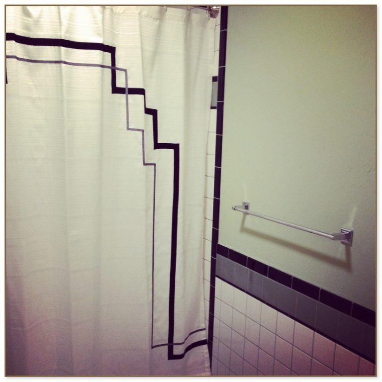 nouveau shower curtain