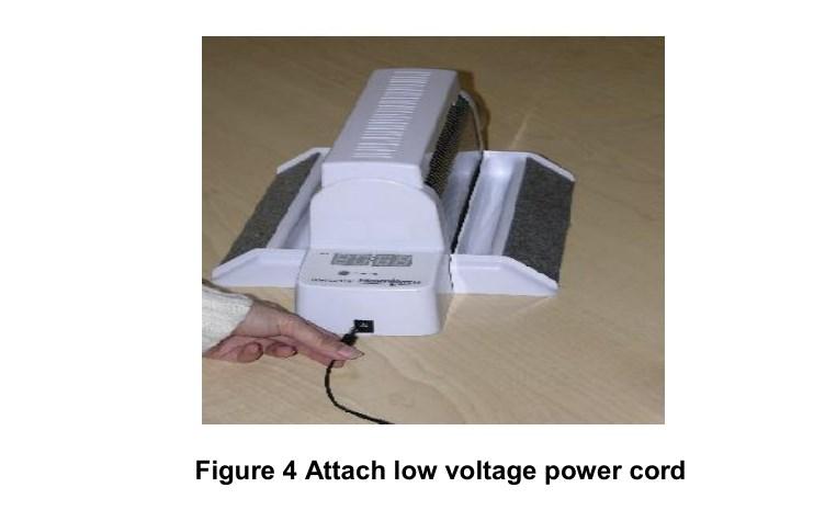 Attach Low Voltage Power Cord Nightwatch