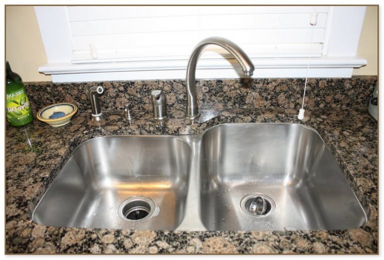 in soap dispenser for kitchen sink
