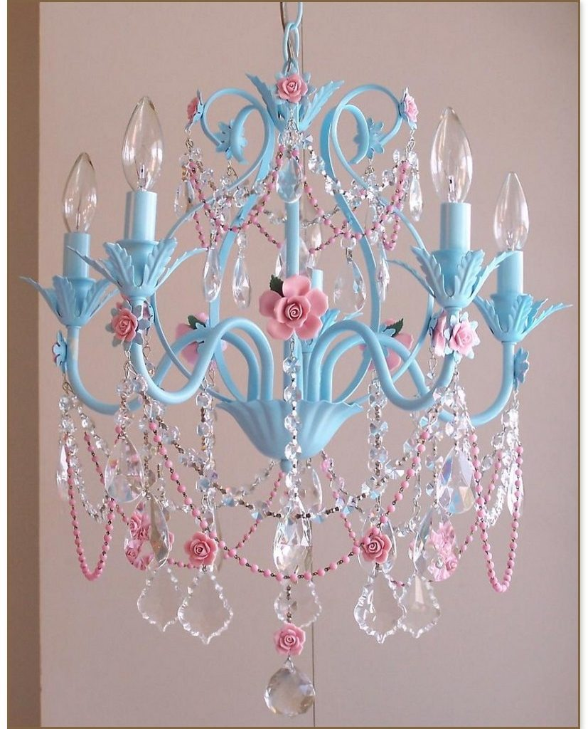 Chandelier For Girl Bedroom