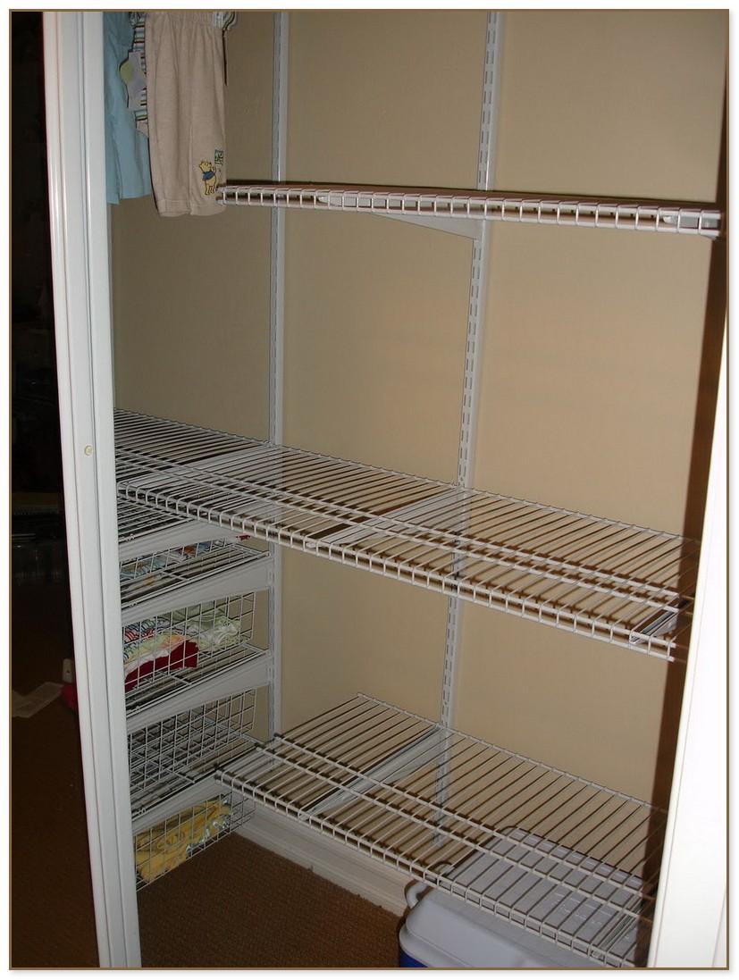 Closet Shelves Home Depot