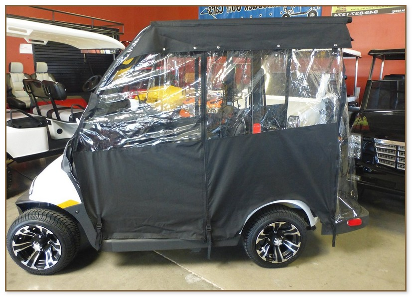 Golf Cart Weather Enclosures
