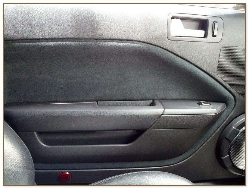 Mustang Door Panel Insert