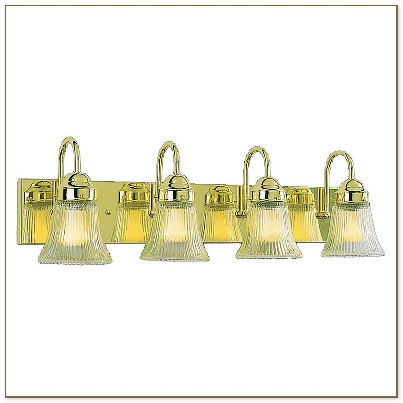 Polished Brass Vanity Lights