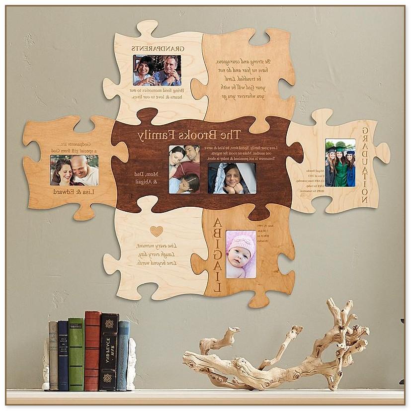 Puzzle Piece Picture Frames