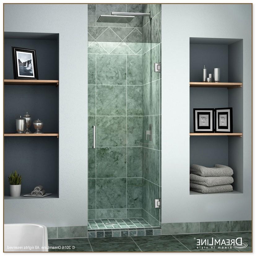 24 Inch Shower Door