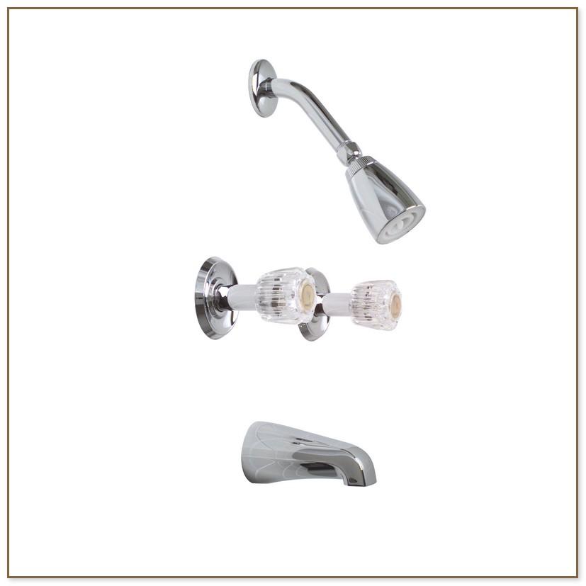 3 Knob Shower Faucet
