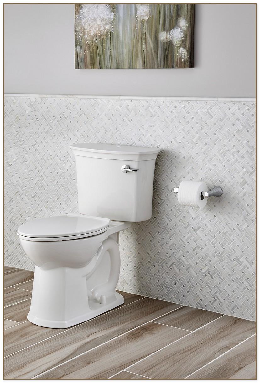American Standard Clean Toilet