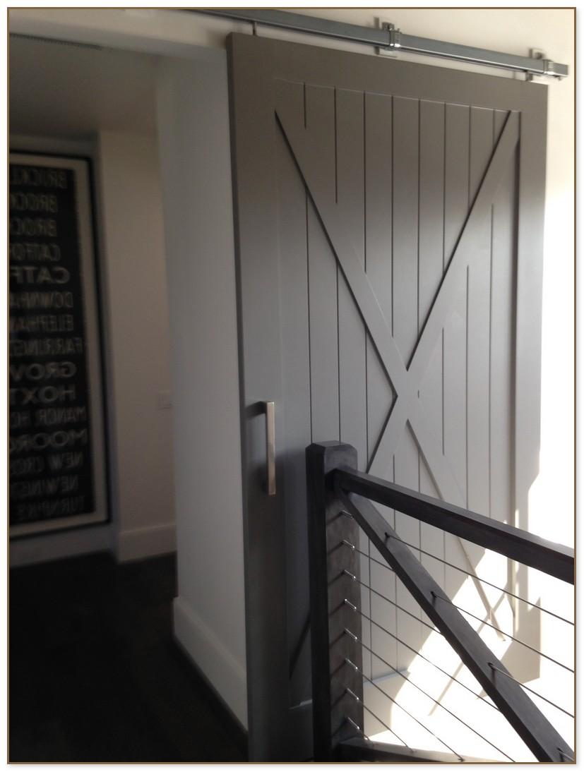 Barn Door Bathroom Privacy