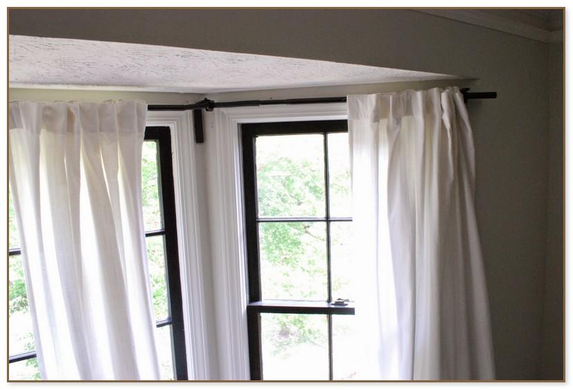 Curtain Rod For Corner Windows