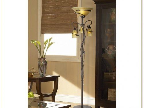 Franklin Iron Works Floor Lamp
