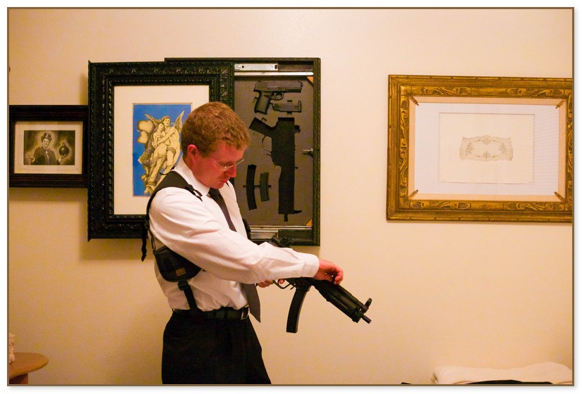 Hide A Gun Picture Frame