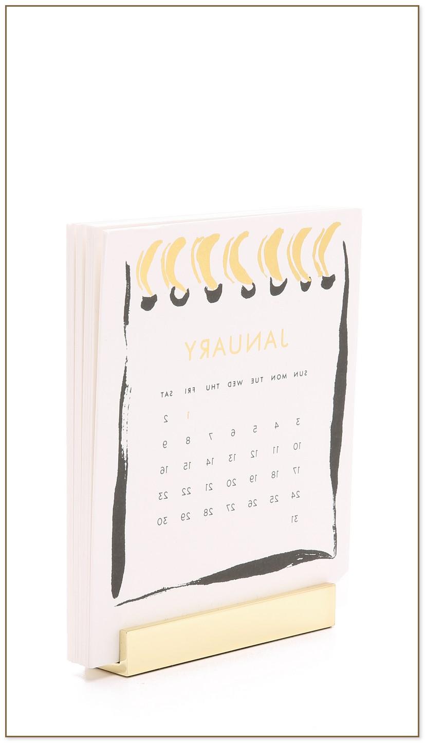 Kate Spade Desk Calendar