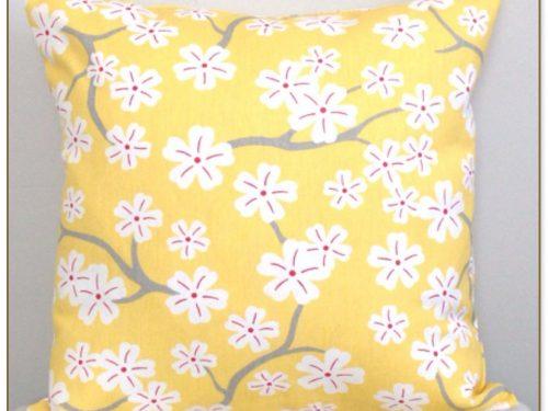Light Yellow Throw Pillows