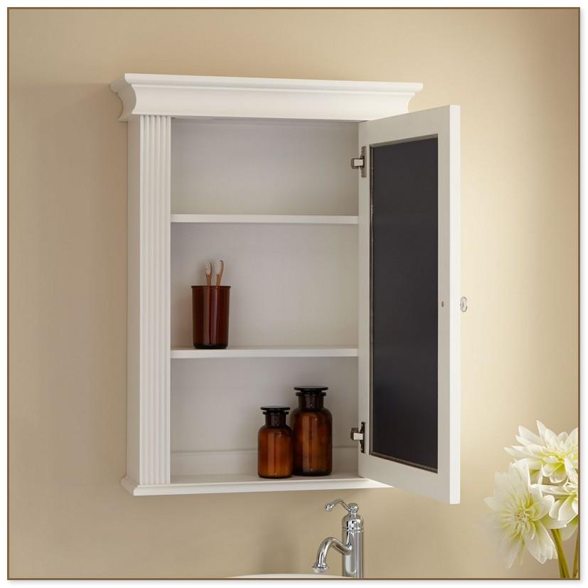 Medicine Cabinet No Mirror