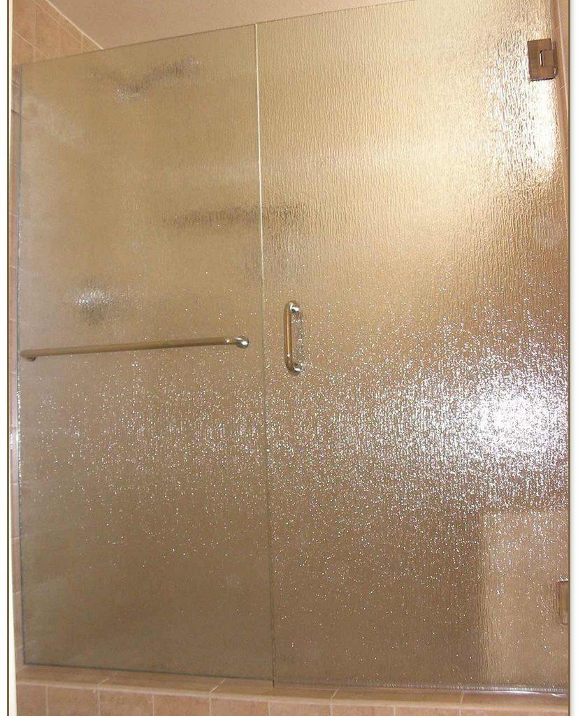 Rain Glass Shower Door