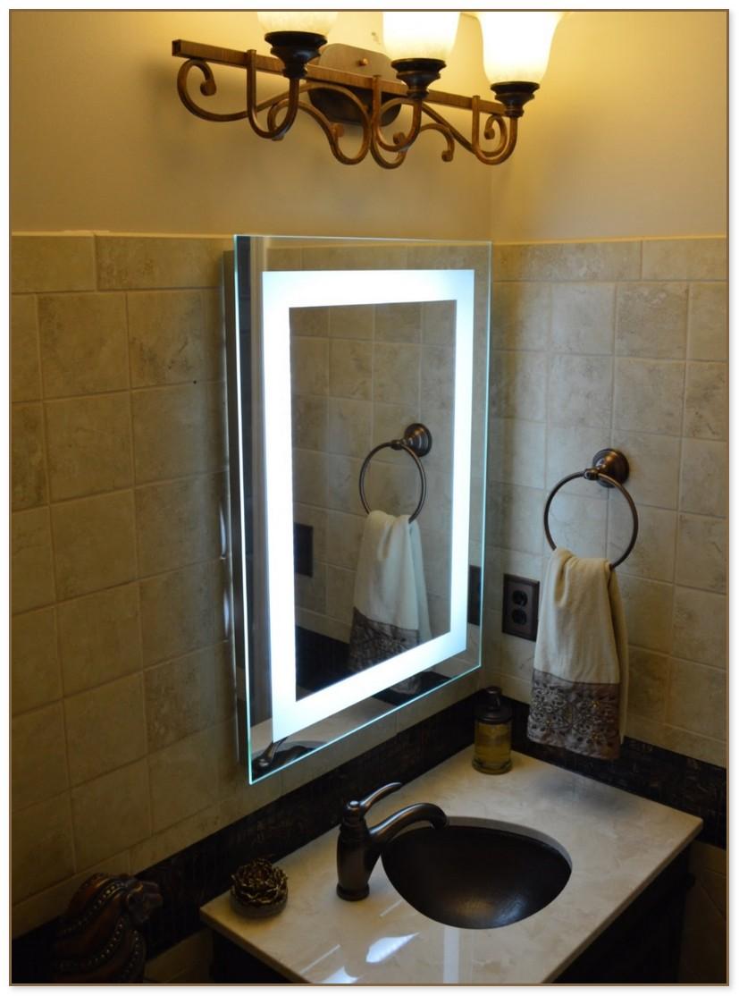 Vanity Mirror Set With Lights