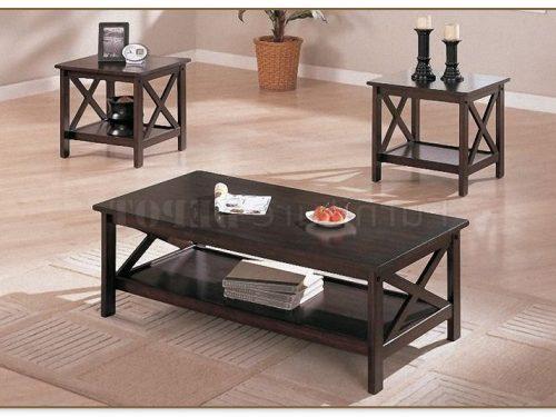 3 Pc Coffee Table Set
