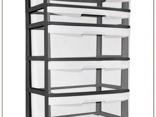 5 Drawer Storage Cart