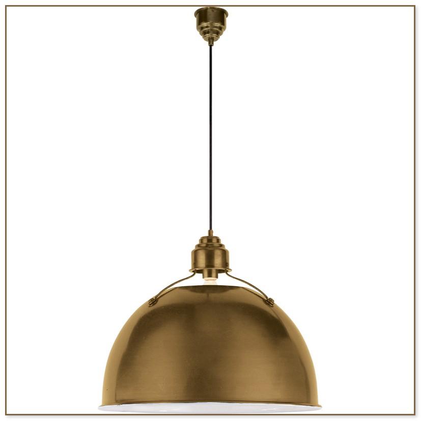 Antique Brass Pendant Light