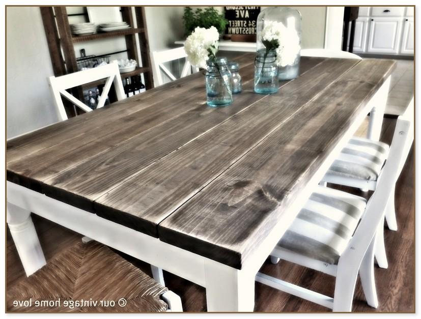 Barnwood Dining Room Table