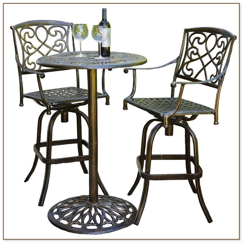 Bistro Table Set Outdoor