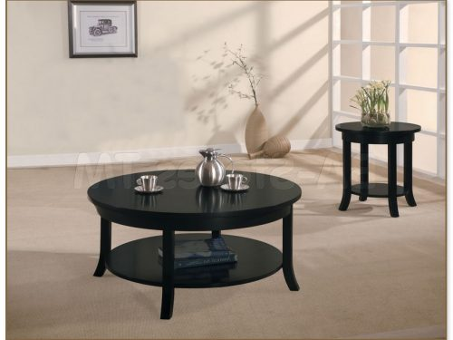 Black Coffee Table Set