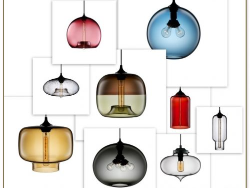 Blown Glass Pendant Lighting