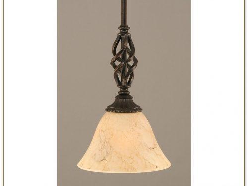 Bronze Mini Pendant Light
