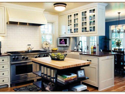 Built In Kitchen Islands