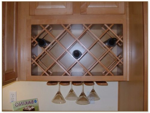 Cabinet Wine Rack Insert