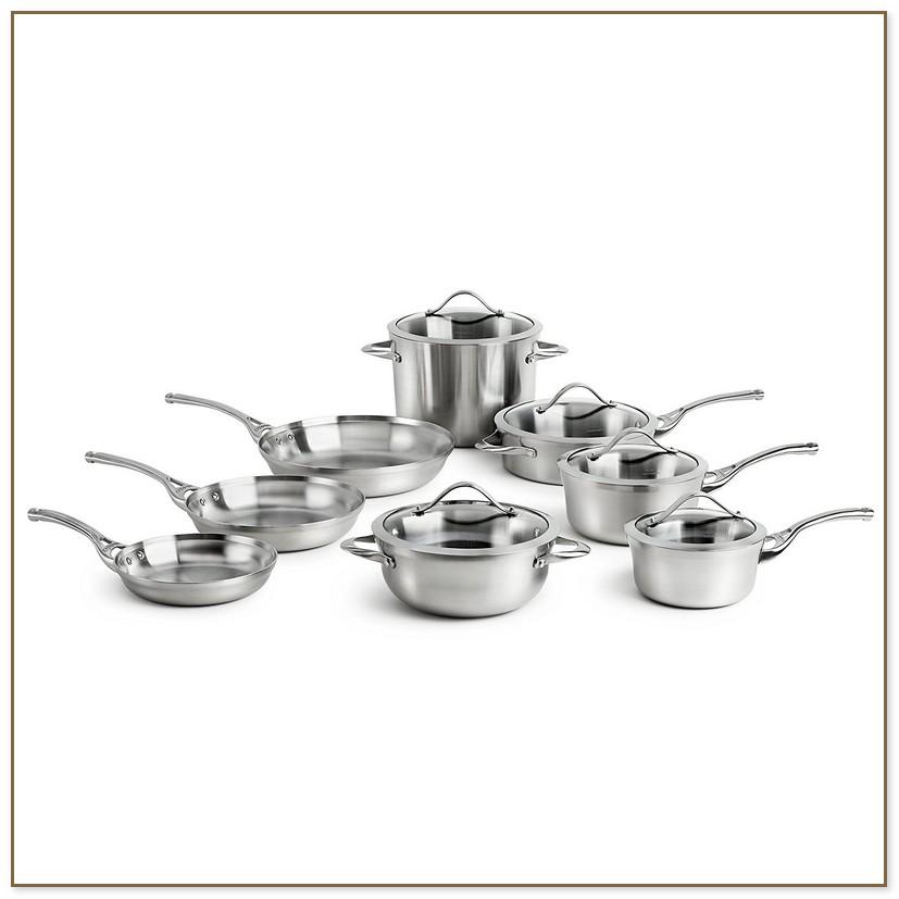 Calphalon Contemporary Stainless 13 Piece Cookware Set