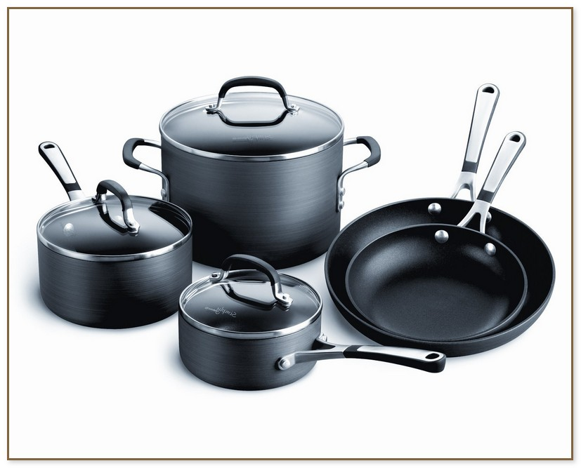 Calphalon Hard Anodized Cookware Set
