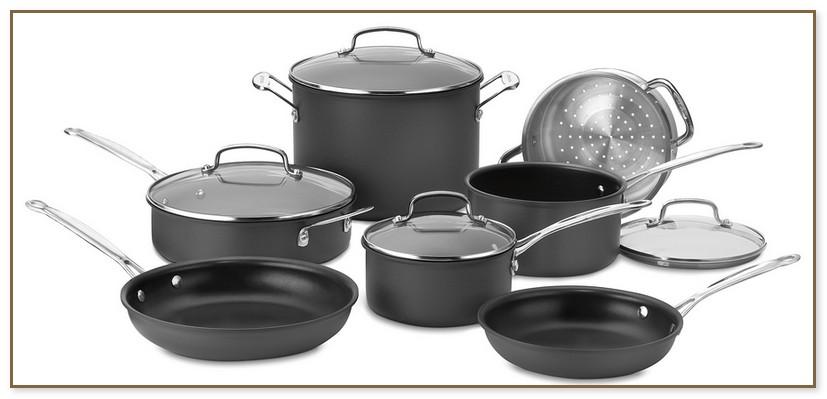 Cuisinart Hard Anodized Cookware Set