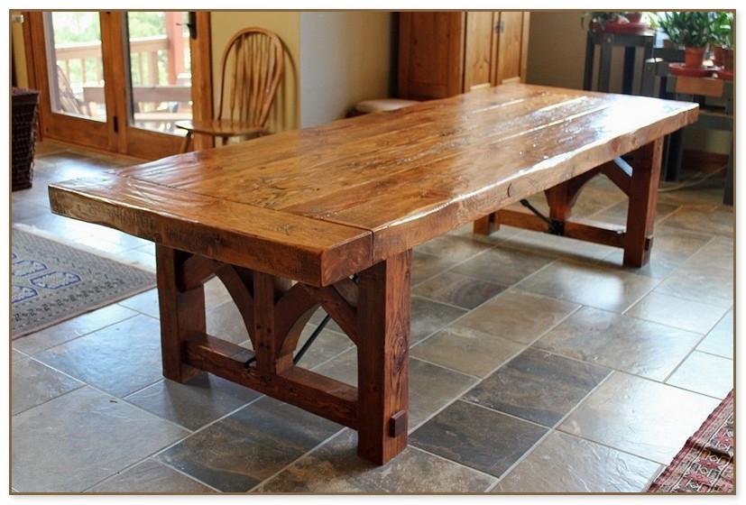 Custom Wood Dining Tables