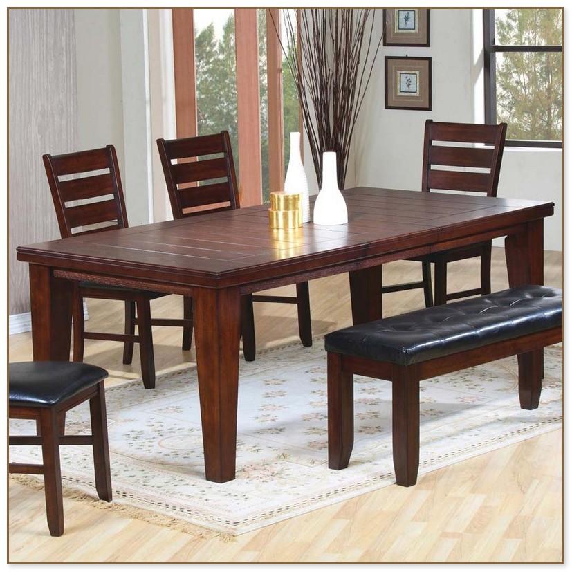 Dark Brown Dining Table
