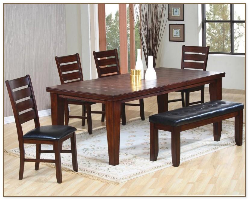 Dark Dining Room Table
