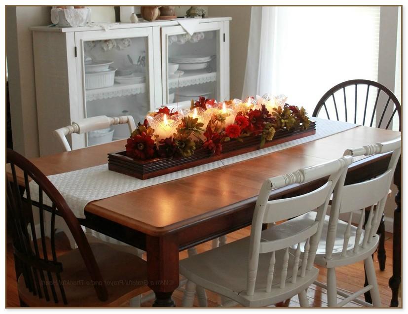 Dining Table Centerpiece Decor