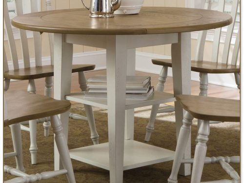 Drop Leaf Dining Table Set