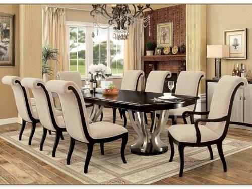 Espresso Dining Table Set