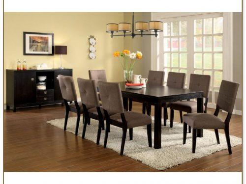 Espresso Kitchen Table Set
