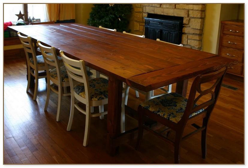 Farmhouse Dining Table Plans
