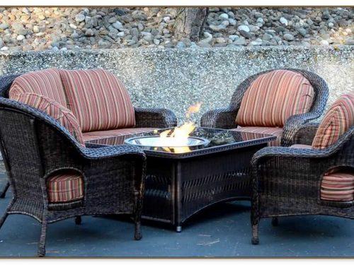Fire Pit Table Sets