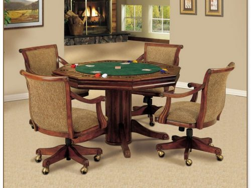 Game Table And Chairs Set