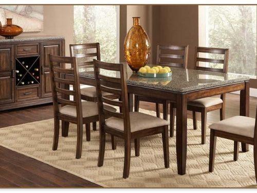 Granite Dining Table Set