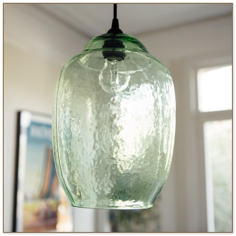 Green Glass Pendant Lights