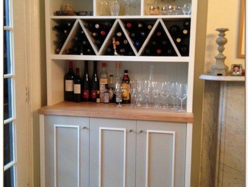 In Cabinet Wine Rack