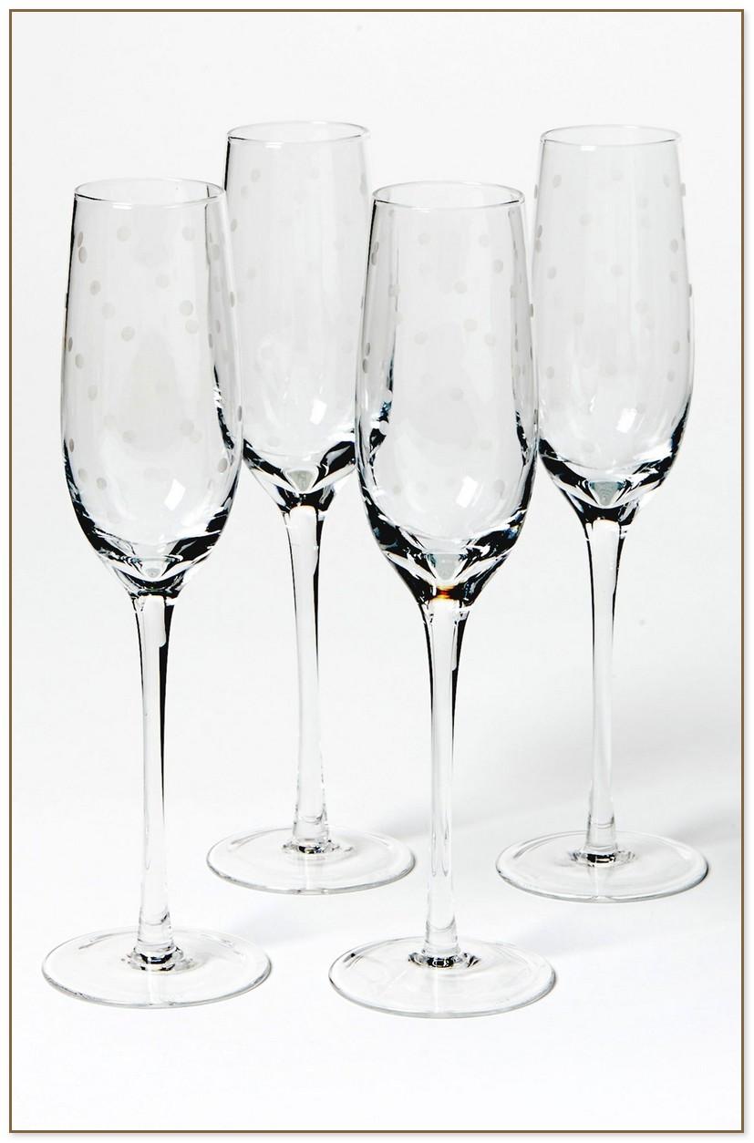 Kate Spade Champagne Glasses
