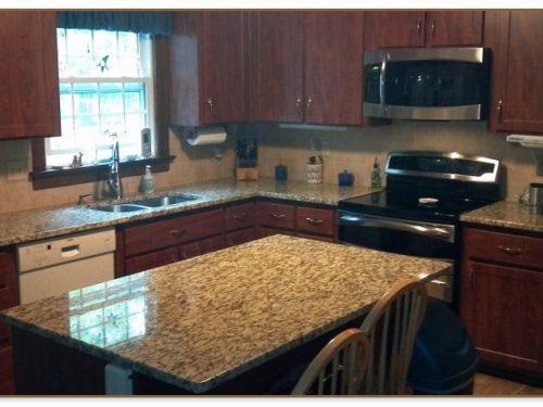 Kitchen Islands With Granite Top