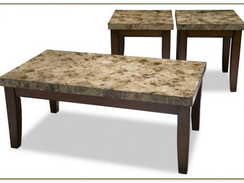 Marble End Table Set